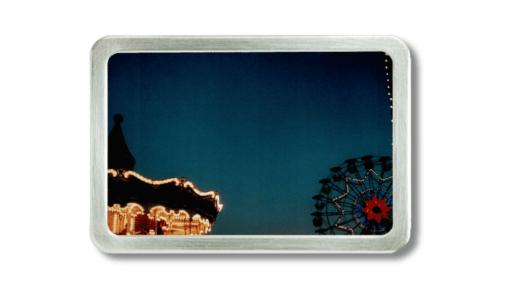 Karusell auf dem Tibidabo bei Barcelona