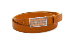 Hip Belt cognac Schnalle Eixample