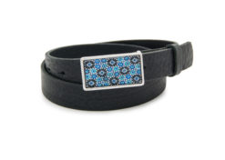 Hip Belt blue ornament