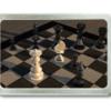 Gürtelschnalle mit Schachbrett und Figuren