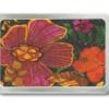 Gürtelschnalle mit Blumenmotiv